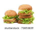 green salad  sweet paprica and... | Shutterstock . vector #73853839