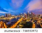 singapore   august 23  2017... | Shutterstock . vector #738553972