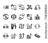 money transaction icons