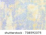 weathered and distressed old...   Shutterstock . vector #738592375