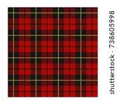Lumberjack Scottish Kilt Red...