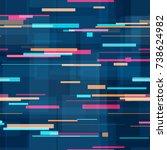 lines  polygons seamless hi... | Shutterstock .eps vector #738624982