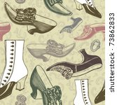 Vintage Shoes Seamless...