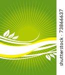spring card   Shutterstock .eps vector #73866637