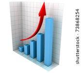 business graph | Shutterstock . vector #73868254
