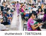 kanchanaburi  thailand   july... | Shutterstock . vector #738702646