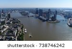 aerial picture of rotterdam... | Shutterstock . vector #738746242