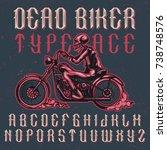handcrafted 'dead biker'...
