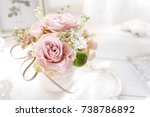 flower arrangement | Shutterstock . vector #738786892