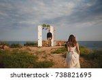 Outdoor Beach Wedding Ceremony  ...