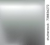 abstract halftone pattern... | Shutterstock .eps vector #738836272