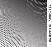 abstract halftone pattern... | Shutterstock .eps vector #738847582