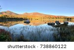mount katahdin baxter state... | Shutterstock . vector #738860122