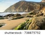 northern california rugged... | Shutterstock . vector #738875752