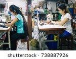 kanchanaburi  thailand   july...   Shutterstock . vector #738887926