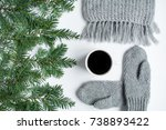 Cup Of Black Tea  Knitted...