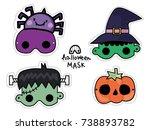 Halloween Mask Kids Costume...