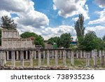 Small photo of Sebasteion, Aphrodisias Ancient City goddess Aphrodite and a large temple complex dedicated to Julia Cladius dallas, the first emperors of the Roman Empire