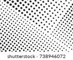 gradient halftone dots... | Shutterstock .eps vector #738946072