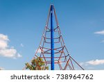 abstract image of children's... | Shutterstock . vector #738964762