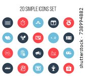 set of 20 editable complicated...