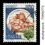 italy circa 1970 a stamp... | Shutterstock . vector #73900771