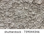grey plaster background ...   Shutterstock . vector #739044346