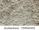 grey plaster background ...   Shutterstock . vector #739044352