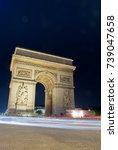 paris  france   june 6  2010 ... | Shutterstock . vector #739047658