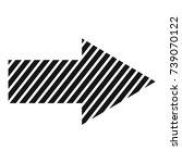 arrow icon in black. simple...