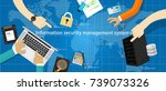 information security management ... | Shutterstock .eps vector #739073326