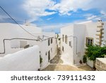the traditional streets of... | Shutterstock . vector #739111432