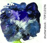 bright texture paints   Shutterstock . vector #739113196