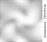 abstract halftone dotted... | Shutterstock .eps vector #739159156