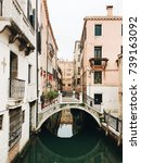venice canals and bridge   Shutterstock . vector #739163092