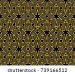 abstract repeat backdrop.... | Shutterstock . vector #739166512