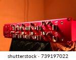 outboard studio   Shutterstock . vector #739197022