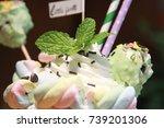 smoothies   Shutterstock . vector #739201306