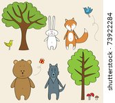 Funny Forest Animals