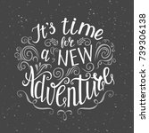 travel. vector hand drawn...   Shutterstock .eps vector #739306138