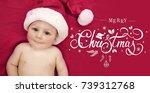 Happy Newborn Baby Boy Santa...