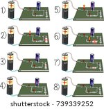 Vector Images Illustrations And Cliparts 4 Stroke Internal Illustrated Diagram Of A Basic Combustion Engine Experiment With Charging Shutterstock Eps 739339252