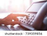 communication support  call... | Shutterstock . vector #739359856