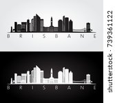 brisbane skyline and landmarks
