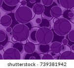 seamless circles pattern in...