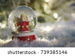 christmas holiday background | Shutterstock . vector #739385146