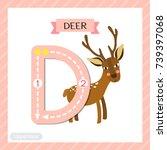 Letter D Uppercase Cute...