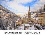 bad gastein  austria   january...   Shutterstock . vector #739401475