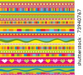 strip pattern. vector background | Shutterstock .eps vector #73940767