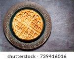 traditional scandinavian style...   Shutterstock . vector #739416016